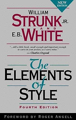 The Elements of Style William Strunk Jr., E.B. White Hardcover