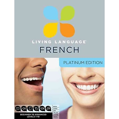 Living Language French, Platinum Edition Living Language Audio CD