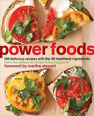 Power Foods The Editors of Whole Living Magazine Paperback