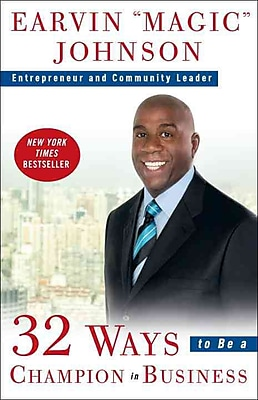 32 Ways to Be a Champion in Business Earvin Magic Johnson Paperback