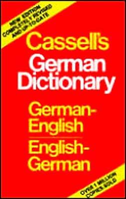 Cassell's German-English English-German Dictionary Harold T. Betteridge Hardcover