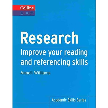 Research Anneli Williams Paperback