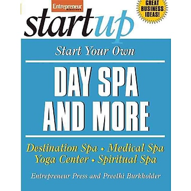Start Your Own Day Spa and More Entrepreneur Press Paperback