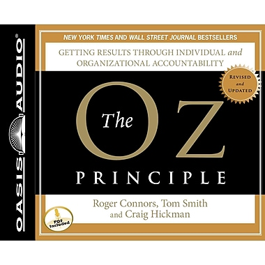 The Oz Principle Roger Connors , Tom Smith Audiobook CD