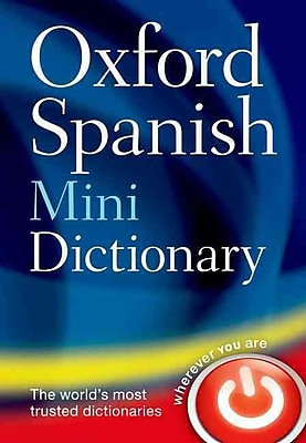 Oxford Spanish Mini Dictionary Oxford Dictionaries Paperback