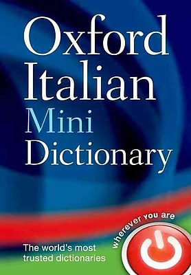 Oxford Italian Mini Dictionary Oxford Dictionaries Paperback