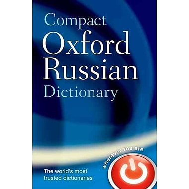 Compact Oxford Russian Dictionary Oxford Dictionaries Paperback