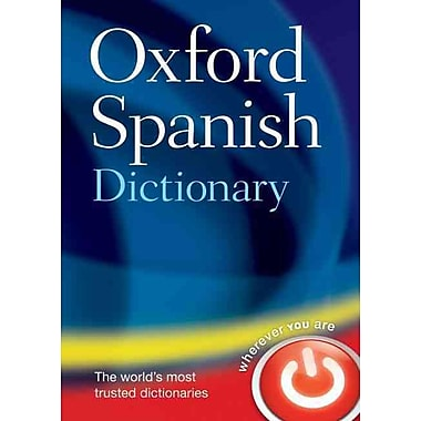 Oxford Spanish Dictionary Oxford Dictionaries Hardcover