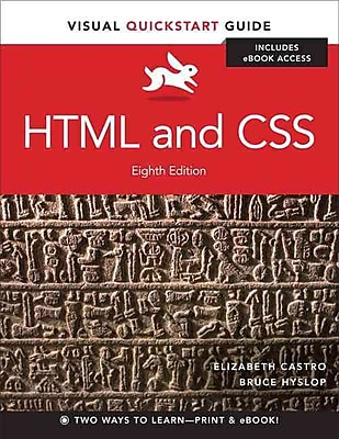 HTML and CSS: Visual QuickStart Guide, Eight Edition Elizabeth Castro Paperback
