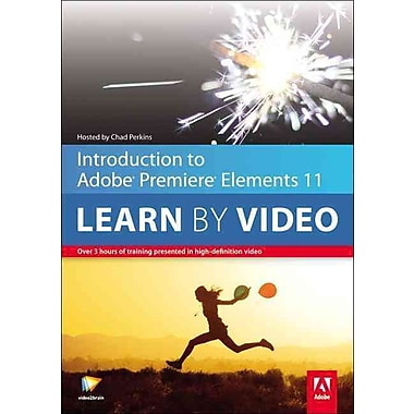 Introduction to Adobe Premiere Elements 11: Learn by Video video2brain DVD-ROM