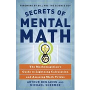 Secrets of Mental Math Paperback