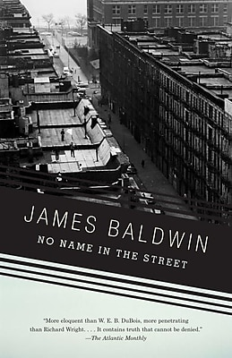 No Name in the Street James Baldwin Paperback