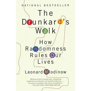 The Drunkard's Walk: How Randomness Rules Our Lives Leonard Mlodinow Paperback, Used Book, (0307275172)