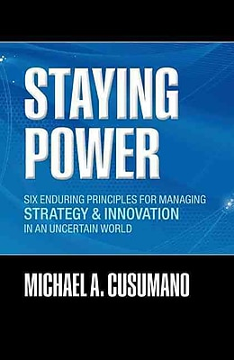 Staying Power Michael A. Cusumano Hardcover
