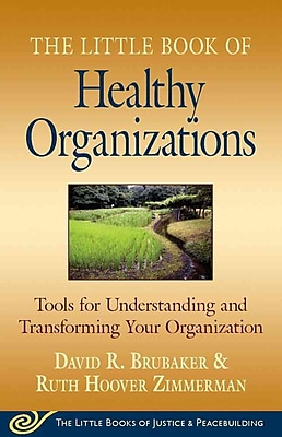 The Little Book of Healthy Organizations David Brubaker, Ruth H Zimmerman Paperback