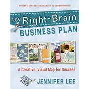The Right-Brain Business Plan Jennifer Lee Paperback