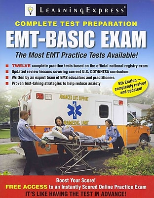 EMT-Basic Exam LearningExpress Editors LLC Paperback