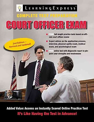 Court Officer Exam LearningExpress LLC Paperback