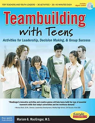 Teambuilding With Teens Mariam G. Macgregor Paperback