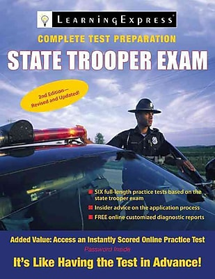 State Trooper Exam LearningExpress Editors Paperback