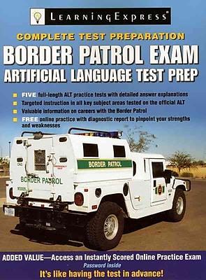 Border Patrol Exam LearningExpress Editors Paperback