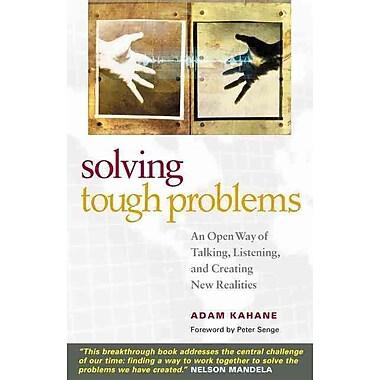 Solving Tough Problems Adam Kahane Paperback