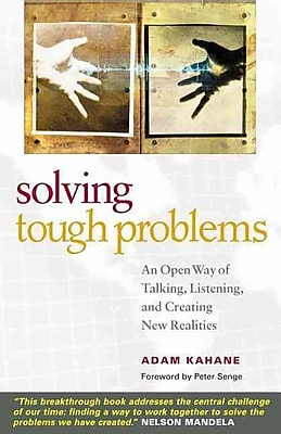 Solving Tough Problems Adam Kahane Paperback