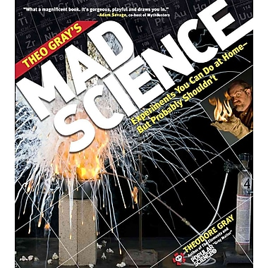 Theo Gray's Mad Science Theodore Gray Paperback