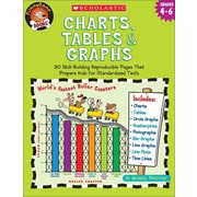 Charts, Tables & Graphs, Grades 4-6 (Funnybone Books) Michael Priestley Paperback