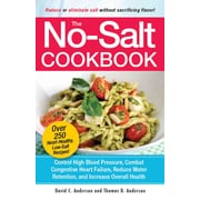 The No Salt Cookbook Thomas D. Anderson , David C. Anderson Paperback