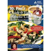Mr. Food's Quick and Easy Diabetic Cooking Art Ginsburg Paperback