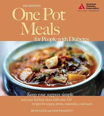 One Pot Meals for People With Diabetes Ruth Glick , Nancy Baggett Paperback
