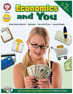 Economics and You, Grades 5 - 8 Kristen Girard Golomb Paperback