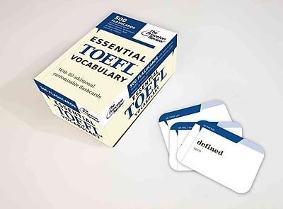 Essential TOEFL Vocabulary (flashcards) (Test Preparation) Princeton Review Cards