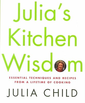 Julia's Kitchen Wisdom Julia Child Hardcover