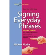 Signing Everyday Phrases Mickey Flodin Paperback