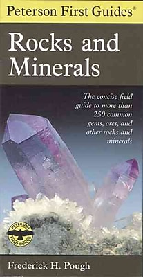 Peterson First Guide to Rocks and Minerals Frederick H. Pough Paperback
