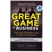 The Great Game of Business, Expanded and Updated Jack Stack , Bo Burlingham Paperback