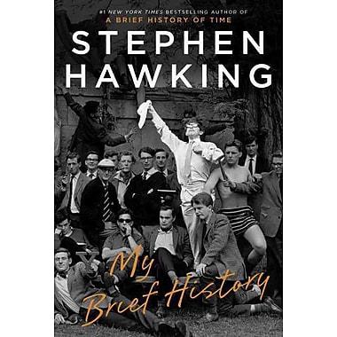 My Brief History [Deckle Edge] Stephen Hawking Hardcover