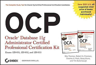 OCP: Oracle Database 11g Administrator Certified Professional Certification Kit Paperback