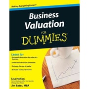 Business Valuation For Dummies Lisa Holton , Jim Bates Paperback
