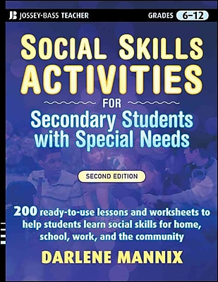 Social Skills Activities for Secondary Students with Special Needs (Jossey-Bass Teacher) Paperback