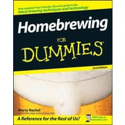 Homebrewing For Dummies Marty Nachel Paperback