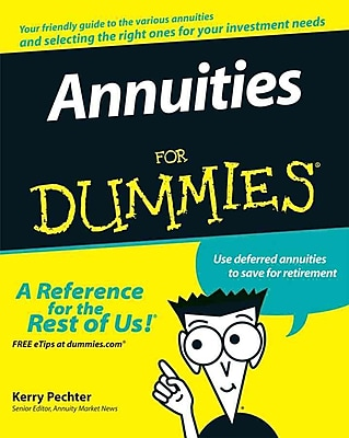 Annuities For Dummies Kerry Pechter Paperback