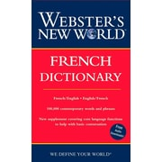Webster's New World French Dictionary (2nd Ed) Harraps Paperback