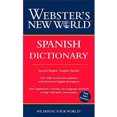 Webster's New World Spanish Dictionary Harraps Paperback