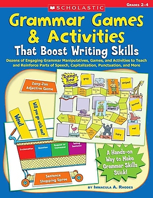 Grammar Games & Activities That Boost Writing Skills Immacula Rhodes Paperback