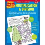 Practice, Practice, Practice! Multiplication & Division Christine Hood Paperback