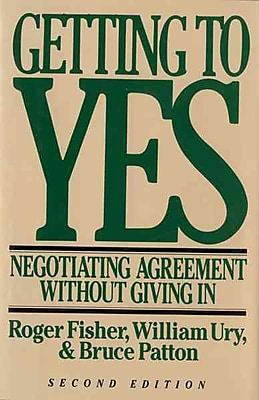 Getting To Yes (Hardcover) William L. Ury , Roger Fisher , Bruce M. Patton Hardcover
