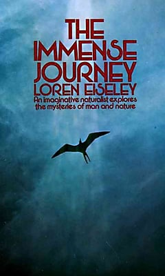 The Immense Journey Loren Eiseley Paperback